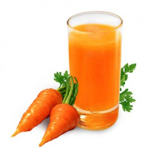 морковный сок.